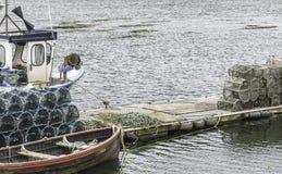 Απόψεις του χωριού Plockton Στοκ εικόνα με δικαίωμα ελεύθερης χρήσης