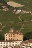 Απόψεις του Castle Barolo Στοκ φωτογραφία με δικαίωμα ελεύθερης χρήσης