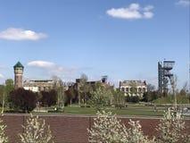 Απόψεις του Silesian μουσείου σε Katowice Στοκ Φωτογραφίες