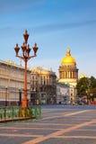 Απόψεις του ST Πετρούπολη. Καθεδρικός ναός Αγίου Isaac Στοκ εικόνες με δικαίωμα ελεύθερης χρήσης