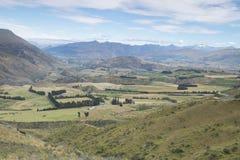 Απόψεις των βουνών και των βράχων της Νέας Ζηλανδίας δ Υ Στοκ φωτογραφία με δικαίωμα ελεύθερης χρήσης