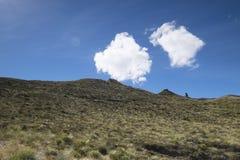 Απόψεις των βουνών και των βράχων της Νέας Ζηλανδίας δ Υ Στοκ Εικόνες