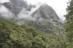 Απόψεις των βουνών και των βράχων της Νέας Ζηλανδίας Στοκ εικόνα με δικαίωμα ελεύθερης χρήσης