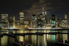 Απόψεις NYC από Booklyn στοκ φωτογραφίες