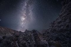Από έναν άλλο πλανήτη - Tabernas έρημος AlmerÃa Ισπανία στοκ εικόνα με δικαίωμα ελεύθερης χρήσης