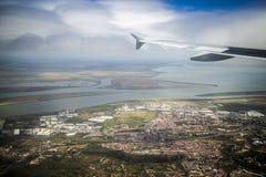 Από ένα αεροπλάνο Στοκ εικόνες με δικαίωμα ελεύθερης χρήσης