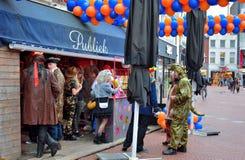Απόλαυση ανθρώπων carnaval Στοκ φωτογραφία με δικαίωμα ελεύθερης χρήσης