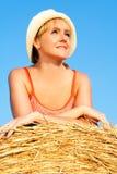 απόλαυση της γυναίκας σί&ta Στοκ φωτογραφία με δικαίωμα ελεύθερης χρήσης
