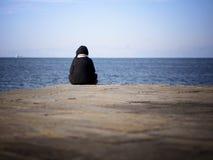 απόλαυση της θάλασσας Στοκ φωτογραφία με δικαίωμα ελεύθερης χρήσης