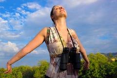 Απόλαυση του ήλιου στοκ φωτογραφία με δικαίωμα ελεύθερης χρήσης