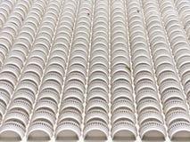 Από-δευτερεύον πλήρες μπαλκόνι. στοκ εικόνα