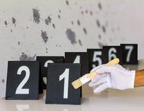 Απόδειξη με τους αριθμούς Στοκ εικόνες με δικαίωμα ελεύθερης χρήσης