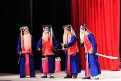 Απόδοση οπερών του Πεκίνου στοκ εικόνα