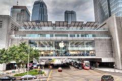 Απόδοση HDR της Apple Store στο Χονγκ Κονγκ Στοκ εικόνες με δικαίωμα ελεύθερης χρήσης
