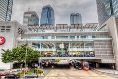 Απόδοση HDR της Apple Store στο Χονγκ Κονγκ Στοκ Φωτογραφία