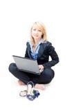 από τα παπούτσια πάρτε την εργασία γυναικών Στοκ εικόνες με δικαίωμα ελεύθερης χρήσης
