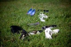 από τα παπούτσια Στοκ εικόνες με δικαίωμα ελεύθερης χρήσης