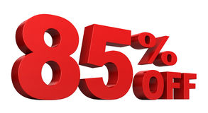 85 από τα τοις εκατό Στοκ φωτογραφίες με δικαίωμα ελεύθερης χρήσης