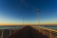 Από την αποβάθρα Marina Di Massa Στοκ εικόνα με δικαίωμα ελεύθερης χρήσης