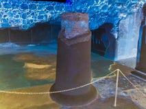 Από την αρχαία στήλη πετρών Στοκ εικόνα με δικαίωμα ελεύθερης χρήσης