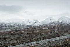 Από την Αλάσκα τοπίο βουνών Στοκ εικόνα με δικαίωμα ελεύθερης χρήσης