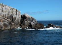 Από την Αλάσκα δύσκολες ακτές Στοκ φωτογραφία με δικαίωμα ελεύθερης χρήσης