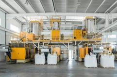 Από την κατασκευή πολυπροπυλενίου των λεπτομερειών Στοκ Εικόνα