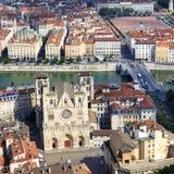 Από την κορυφή της Notre Dame de Fourviere Basilica Στοκ Φωτογραφίες
