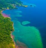 Από την Κόστα Ρίκα σκόπελος στοκ φωτογραφίες