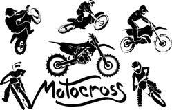 Από την οδική μοτοσικλέτα, σύνολο ελεύθερη απεικόνιση δικαιώματος