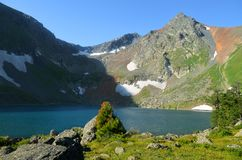 Από την πεζοπορία στα βουνά στοκ εικόνες