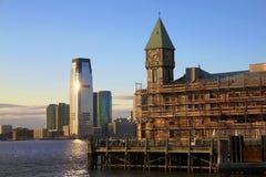 Από την πόλη της Νέας Υόρκης στην πόλη του Τζέρσεϋ Στοκ Φωτογραφίες