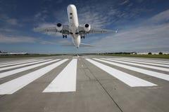 από τη λήψη αεροπλάνων Στοκ Φωτογραφία