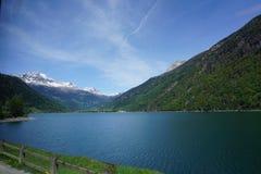 Από τη λίμνη στην Ελβετία Στοκ Εικόνα