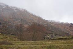 Από τη Λιγουρία Apennines - Monte Ramaceto - Cichero - SAN Colombano Certenoli - Λιγυρία - Ιταλία Στοκ Εικόνες