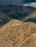 Από τη σύνοδο κορυφής της αιχμής 13500, ΑΜ Ογκώδης αγριότητα, σειρά Sawatch, Κολοράντο Στοκ εικόνα με δικαίωμα ελεύθερης χρήσης