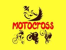 Από τις οδικές μοτοσικλέτες καθορισμένες Στοκ Εικόνες