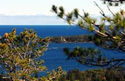 Φυσικό Drive βουνών Brockway Στοκ Εικόνες