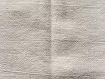 Από το άσπρο υπόβαθρο σύστασης υφάσματος Στοκ φωτογραφίες με δικαίωμα ελεύθερης χρήσης