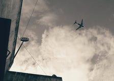 Από το έδαφος στον ουρανό Στοκ Φωτογραφίες