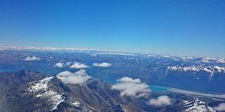 Από το αεροπλάνο Στοκ Εικόνα