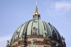 Από το Βερολίνο θόλος εκκλησιών καθεδρικών ναών DOM  Βερολίνο Στοκ φωτογραφίες με δικαίωμα ελεύθερης χρήσης