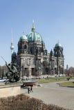 Από το Βερολίνο DOM, Lustgarten - ορόσημο Στοκ Εικόνες