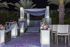 Από το εβραϊκό Hupa, γαμήλιο putdoor στοκ φωτογραφία με δικαίωμα ελεύθερης χρήσης