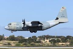 Από το Κουβέιτ γ-130J Hercules Στοκ Φωτογραφίες