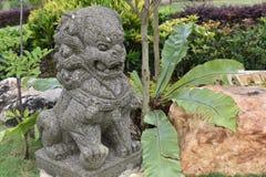Από το Μπαλί άγαλμα του λιονταριού στοκ φωτογραφία με δικαίωμα ελεύθερης χρήσης