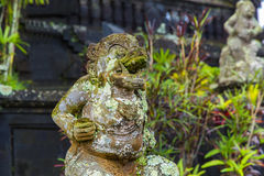 Από το Μπαλί άγαλμα Θεών στο ναό σύνθετο, Μπαλί, Ινδονησία Στοκ εικόνα με δικαίωμα ελεύθερης χρήσης