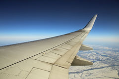 Από το παράθυρο αεροπλάνων στοκ εικόνες