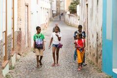 Από το Πράσινο Ακρωτήρι παιδιά Στοκ Εικόνα