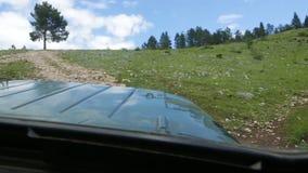 Από το δρόμο στο βουνό απόθεμα βίντεο